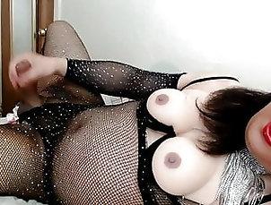 Ladyboy (Shemale);Big Tits (Shemale);Lingerie (Shemale);Masturbation (Shemale);Solo (Shemale);Mature (Shemale);Shemale Lingerie (Shemale);Chinese (Shemale);HD Videos Sparkle & Shine Bodysuit 2