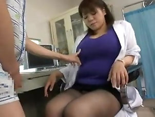 Asian;Cumshot;Handjob;Stockings;Japanese;Femdom;CFNM;Medical;Big Natural Tits tekoki bb...