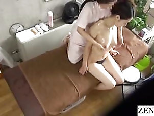 Asian;Lesbians;Japanese;Massage;Wife;Married;JAV Lesbian;Married Woman;Woman Massage;Zenra JAV CFNF lesbian...