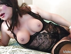 Ladyboy (Shemale);Big Tits (Shemale);Lingerie (Shemale);Masturbation (Shemale);Solo (Shemale);HD Videos;Mature (Shemale);Chinese (Shemale) Black Open Back...