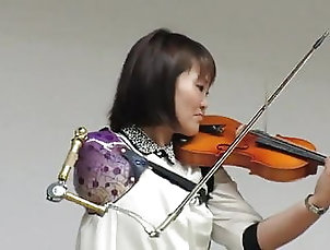 Asian;Celebrity;Mature;HD Videos;Interview;Best;Violin;Beautiful;Great;Amputee;Nice;Good;Arms;Arm Amputee;Goodest Kazushige Masuda
