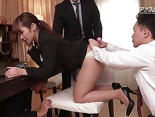 Asian;Blowjob;Japanese;Cunnilingus;Secretary;Vibrator;Pantyhose;Girl Masturbating;Humiliation;HD Videos Anjyu Akane :: The Work of New Staff...