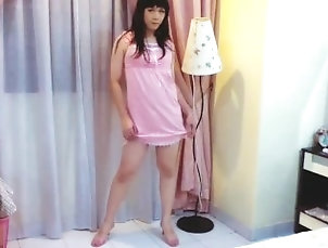 cutiemei;crossdresser;newhalf;asian;crossdresser;asian;ladyboy;asian;newhalf;cute;asian;teen;crossdresser;pink;dress;panties;tease,Asian;Amateur;Teen;Small Tits;College;Transgender;Solo Trans CutieMei teasing...