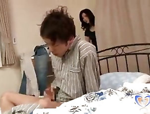 Showers;Vintage;Japanese;MILFs;HD Videos;Mom Japanese Milf Teasing Him with Her...