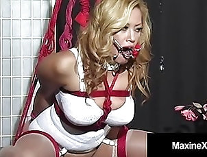 Asian;Blonde;BDSM;Stockings;HD Videos;Bondage;Dildo;Big Tits;Big Ass;Ratchet;Secret;Master;Gagging;Bound Gagged;Making;Busty;Full;Bound;Bound Asian;Maxine X Bound Busty Asian...