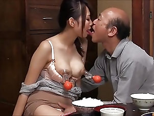 Asian;Japanese;Old+Young;HD Videos;Lactating;Old;Man Milk for Old Man