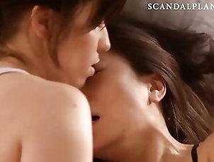 Asian;Celebrity;Fingering;Lesbian;HD Videos;Kissing Constance Wu...