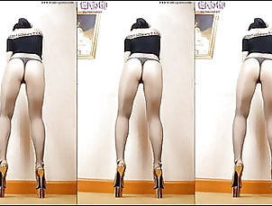 Asian;Boots;High Heels;Pantyhose;Lingeries;Dance;Lingerie Dance;Heels;HD Videos Dance in pantyhose and heels 25