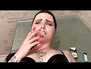Asian;Brunette;Facial;POV;HD Videos;Doggy Style;Cum in Mouth;High Heels;Smoking;Rough Sex;Russians;POV Facial;Smoked;Russian POV;Doggystyle;Doggystyle POV;Smoking POV;60 FPS Russian smoking...