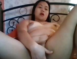 Asian;Fingering;Filipina;Girl Masturbating Pinay 1013658