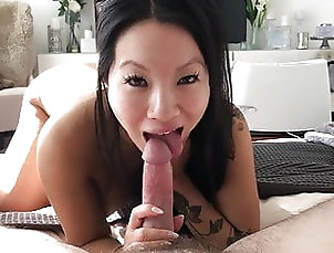 Asian;Blowjob;Hardcore;HD Videos;Doggy Style;Cum in Mouth;Cowgirl;Homemade Asa fucked at home