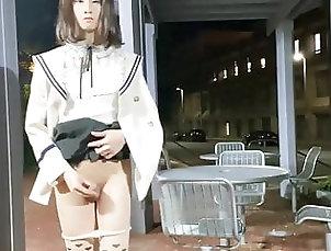 Masturbation (Shemale);Outdoor (Shemale);Solo (Shemale);Shemale Cum (Shemale);Shemale Public (Shemale);Chinese (Shemale);HD Videos SukEtrans 6