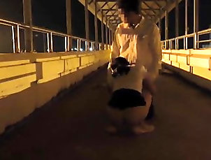 Asian;Outdoor;Doggy Style;Fucking;Foot Sex;Foot Fuck;Footing;Night Sex;Feet;Sex;Night;Sexest Fuck on foot...