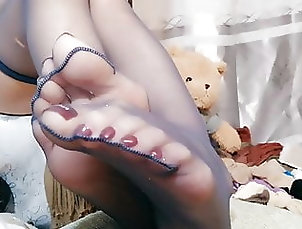 Asian;Foot Fetish;Chinese;HD Videos;Pantyhose chinese foot girl