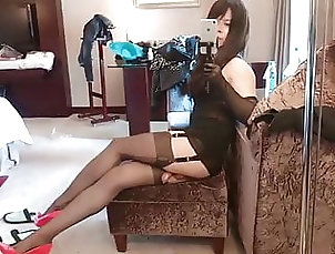 Amateur (Shemale);Lingerie (Shemale);Masturbation (Shemale);Solo (Shemale);HD Videos;Young (Shemale) Fantastic Asian...