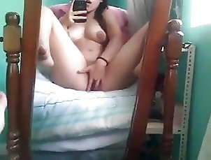 Asian;Close-up;Fingering;Lesbian;Squirting;Orgasm;18 Year Old;Singaporean;Girl Masturbating Friend Little...