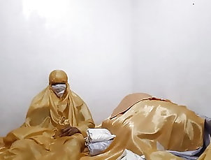Asian;Sex Toy;HD Videos Gold Satin Bed...
