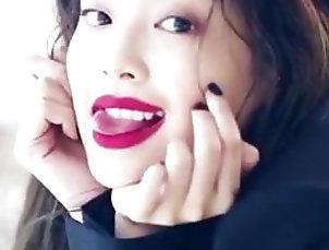 Asian;Babe;Celebrity;JOI;Sexy Tongue;Tongue;Kpop Jennie's...