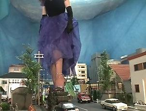 Asian;Vintage;Japanese;Foot Fetish;Giantess;Online;Giantess Crush;City;Japanese Giantess Asian Giantess...