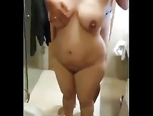 Amateur;Asian;Hardcore;Shower;MILF;Bathroom;Indonesian;Maid;Submissive;Homemade;Mom;Slave Maid When Submissive...