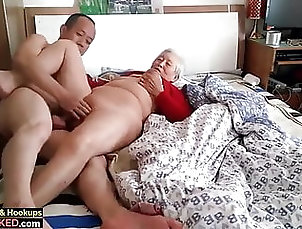 Asian;Fingering;Old & Young;Granny;HD Videos;Orgasm;Saggy Tits;Titty Fucking;Homemade granny with boy