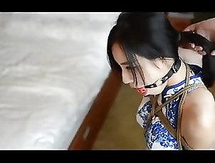 Asian;BDSM;Bondage Cheongsam bondage