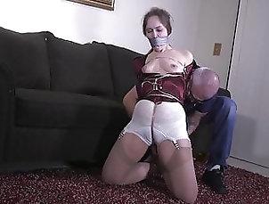 Asian;Brunette;BDSM;Stockings;Nylon;HD Videos;Bondage;High Heels;Duct Tape;Pantyhose;Gagging;Bondage Gag;Girl;Tapes;Wrapped;Duct Girl Duct Tape...