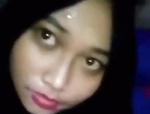 Asian;Facial;18 Year Old;Malaysian;Big Cock Hijab blowjob...