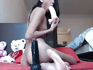 Webcam;Anal;Asian;Brunette;Small Tits;Skinny;Dildo webcam